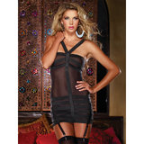 Dreamgirl Fantasy Sexy Power Mesh Dress and Thong Set
