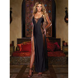 Dreamgirl Seducing Danger Ankle Length Sheer Chemise