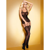 Obsessive All-in-One Cami and Suspender Stockings