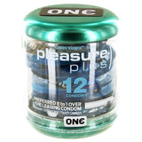 ONE Pleasure Plus Textured Condoms (12 Pack)