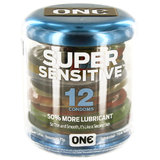 ONE Super Sensitive Condoms (12 Pack)