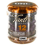 ONE Tantric Pleasures Textured Condoms (12 Pack)