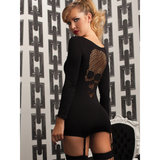 Seven Til Midnight Skull of Anarchy Seamless Dress