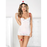 Escante Steamy 4-Piece Nurse Lingerie Set