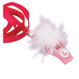 Hen Party L-Plate Furry Whistle Necklace