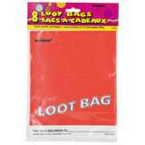 Hen Party Red Loot Bag (8 Pack)