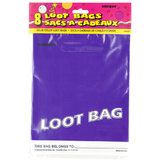 Hen Party Purple Loot Bag (8 Pack)