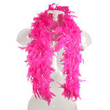 Hen Night 1.5 Metre Pink Glitter Feather Boa