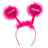 Disco Bridesmaid Silver and Pink Boppers