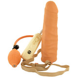 Vibrating Inflatable Hollow Strap-On