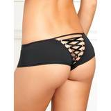 Rene Rofe Crotchless Knickers with Lace Up Back
