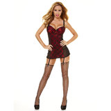 Hustler Sexy Chemise and Thong Set