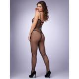 Lovehoney Criss-Cross Strap Crotchless Fishnet Bodystocking