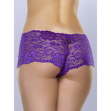 Shorty en dentelle violette Flirty, Lovehoney