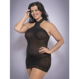 Lovehoney Plus Size Halterneck Mini Dress