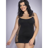Lovehoney Plus Size Hourglass Sheer Mini Dress