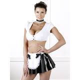 Tenue de soubrette sexy en PVC par Black Level