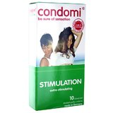 Condomi Stimulation Condoms (10 Pack)