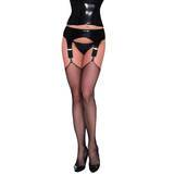 Sexy Latex Deep Garter Belt with Soft Lining