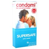 Condomi Supersafe Condoms (10 Pack)