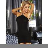 Lapdance VIP Tight Black Mini Dress