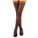 Kix'ies Thigh High Polka Dot Hold Up Stockings