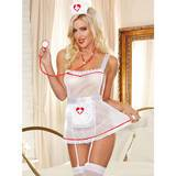 Dreamgirl 4pc Hospital Hottie Nurse Costume