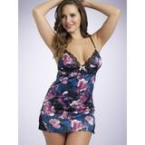 Lovehoney Midnight Bloom Satin Babydoll