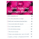 Hen Night Scavenger Hunt Dare Game