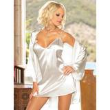 Dreamgirl Charmeuse Chemise and Robe