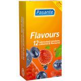 Pasante Mixed Flavoured Condoms (12 Pack)