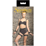 Sportsheets Thigh and Wrist Cuff Bondage Set