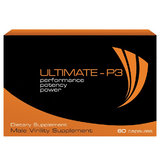 Ultimate-P3 Performance Potency Power Pill (60 Pills)