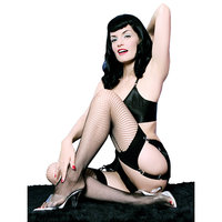 Bettie Page style lingerie