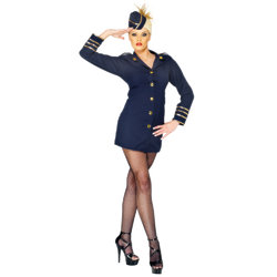 Sexy Flight Attendant Air Hostess Costume