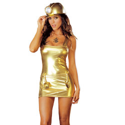 Dreamgirl Gold Digger Dress