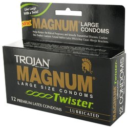 Trojan Magnum Twister Condoms