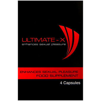 Ultimate-X Enhances Sexual Stimulant (4 Capsules)
