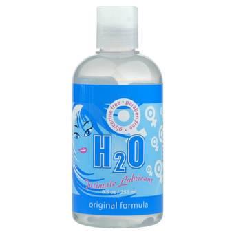 Sliquid H2O Original Glycerin & Paraben-Free Lubricant 255ml
