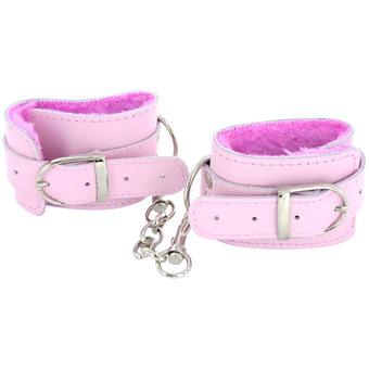 Leather Pleasure Handcuffs