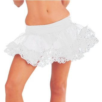 Classified Mesh & Lace Net Petticoat