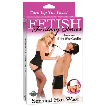 Fetish Fantasy Hot Wax Candle Kit
