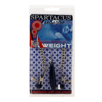 Spartacus Weighted Nipple Clamp Chain Set
