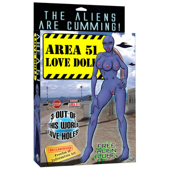 Area 51 Alien Sex Doll
