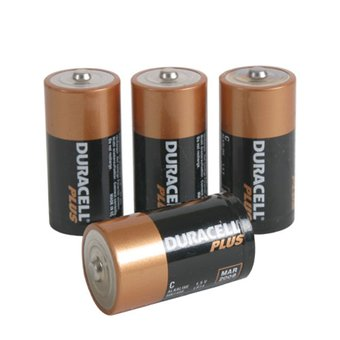 Duracell C Batteries (4 Pack)