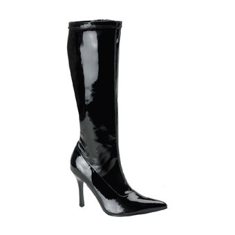 Lust Knee High Zipper Boots