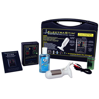 ElectraStim EM32-P Power Unit and ElectraProbe Electrosex Kit