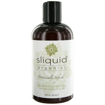 Sliquid Organics Natural Silk Lubricant 255ml