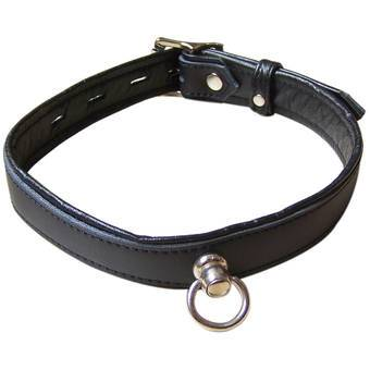 Bondage Boutique Advanced Lockable Leather Collar