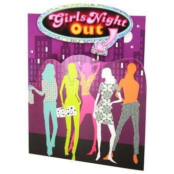 Girls Night Out Invitations (8 Pack)